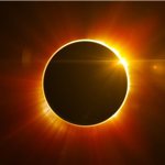 image if a solar eclipse
