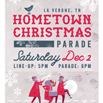 image of Hometown Christmas poster