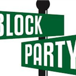 image of Block Party sign