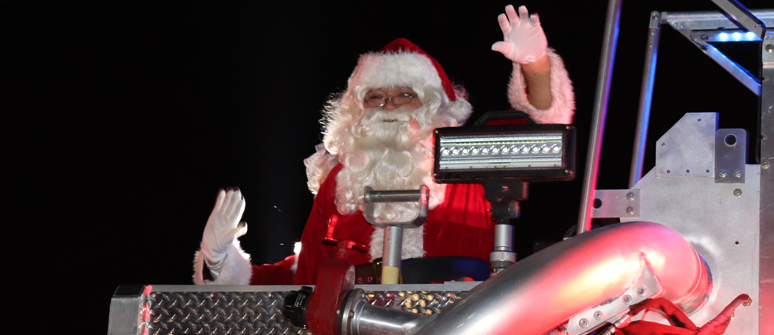 Parade of Lights 2019 - Santa