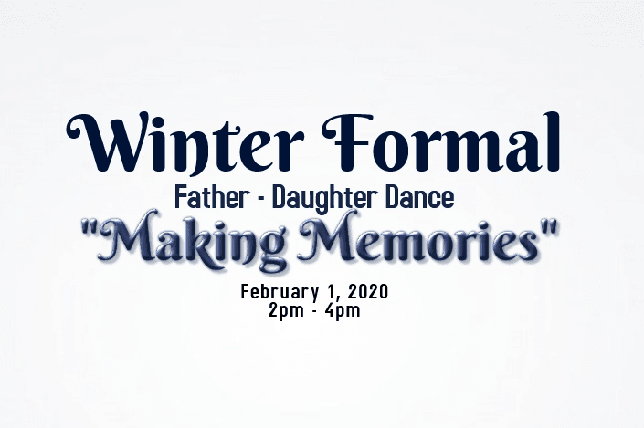 Winter Formal: Father-Daughter Dance