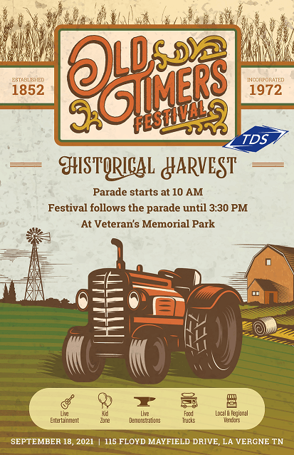 image of Old Timers Day Historical Harvest poster