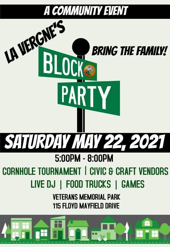 image of Block Party Poster