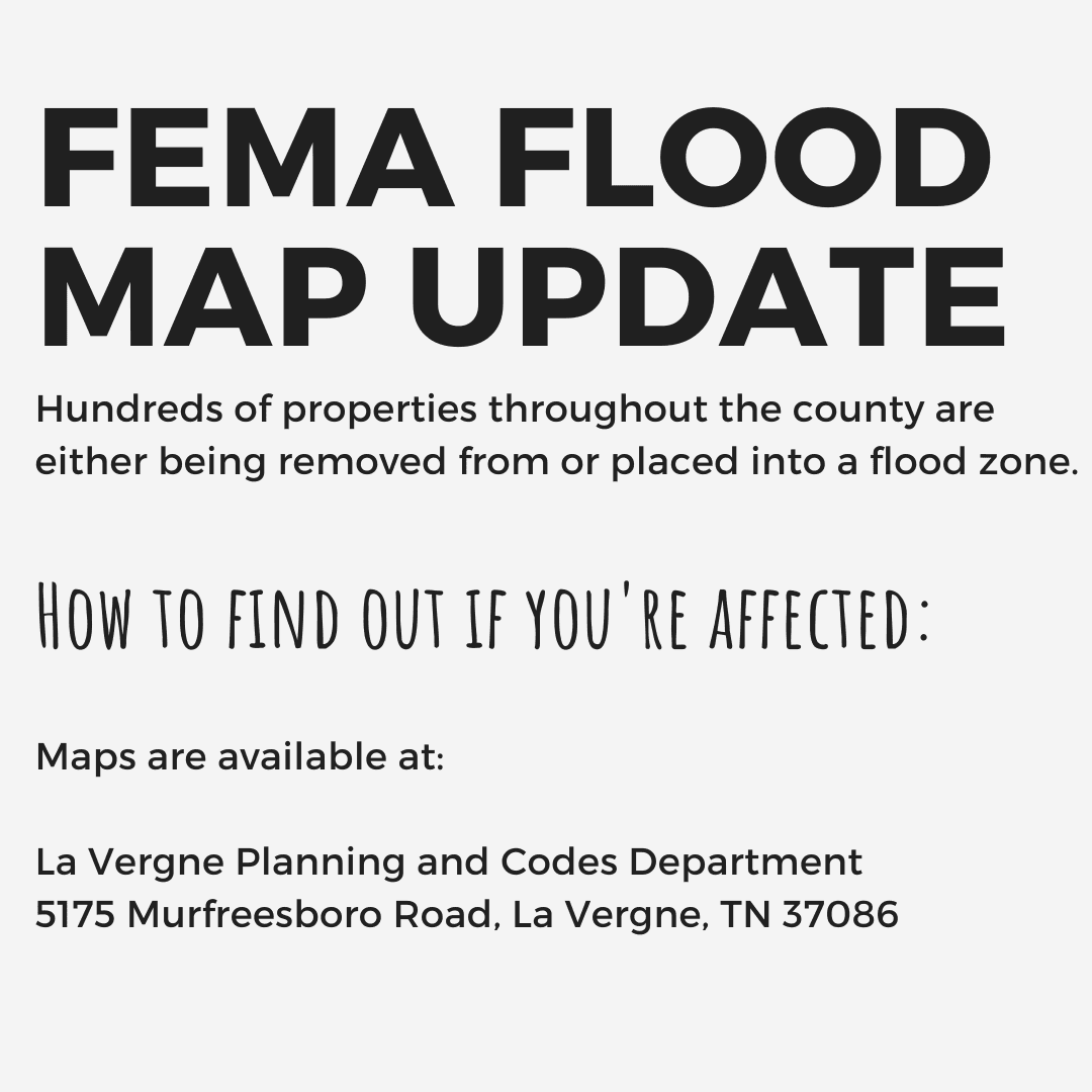 FEMA Flood Map Update