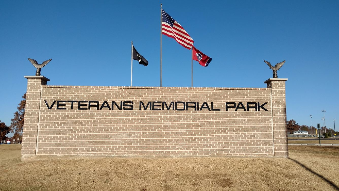 image of Veterans Memorial Park entrance