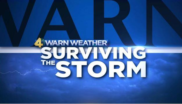 image of 4WARN Weather &#34Surviving the Storm&#34 logo
