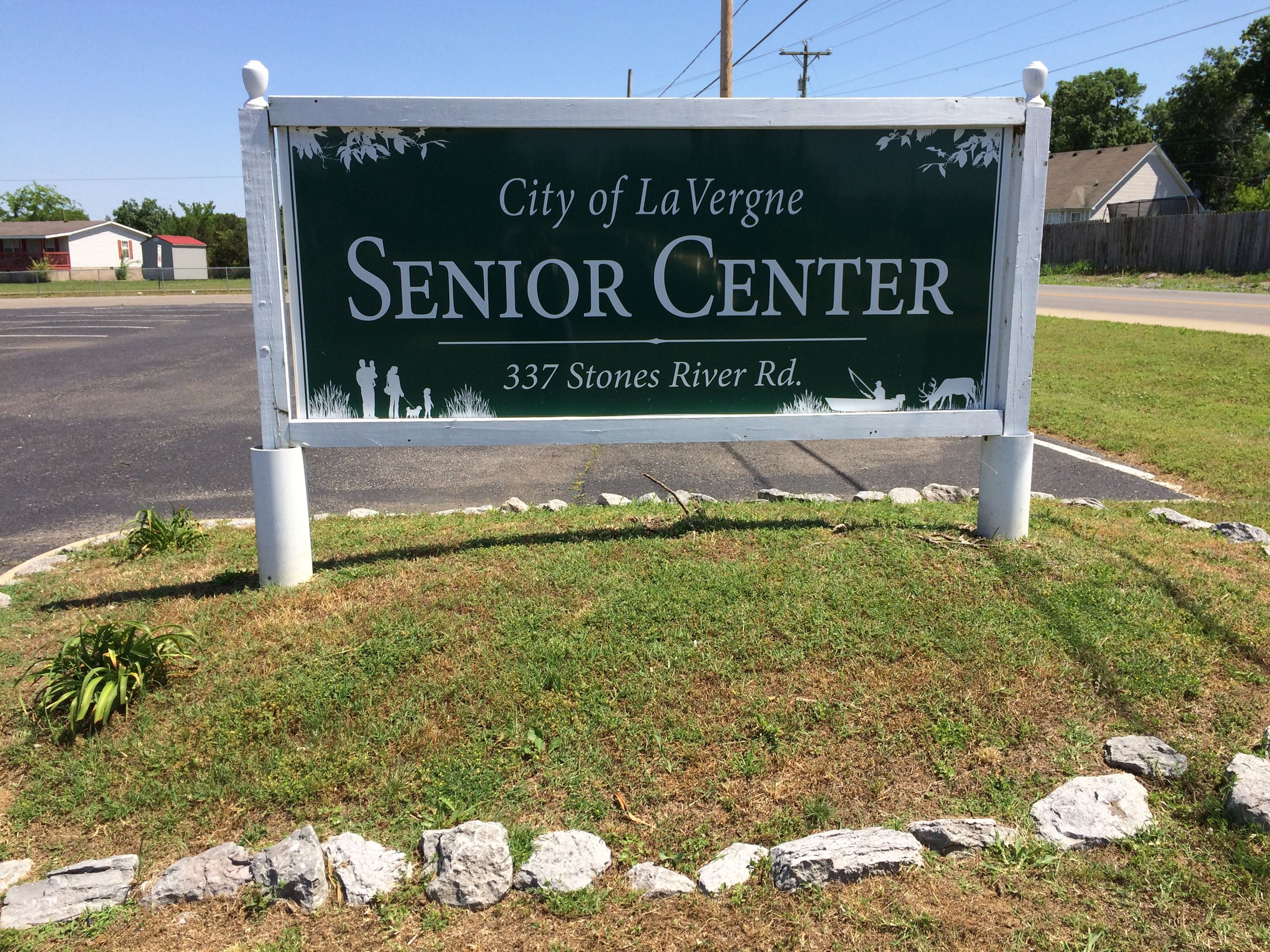 image of Senior Center Sign