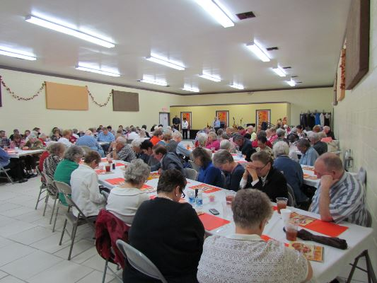 Senior Thanksgiving Event