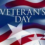 image of Veteran's Day banner